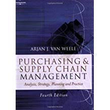 Purchasing & Supply Chain Management by A. J. Van Weele
